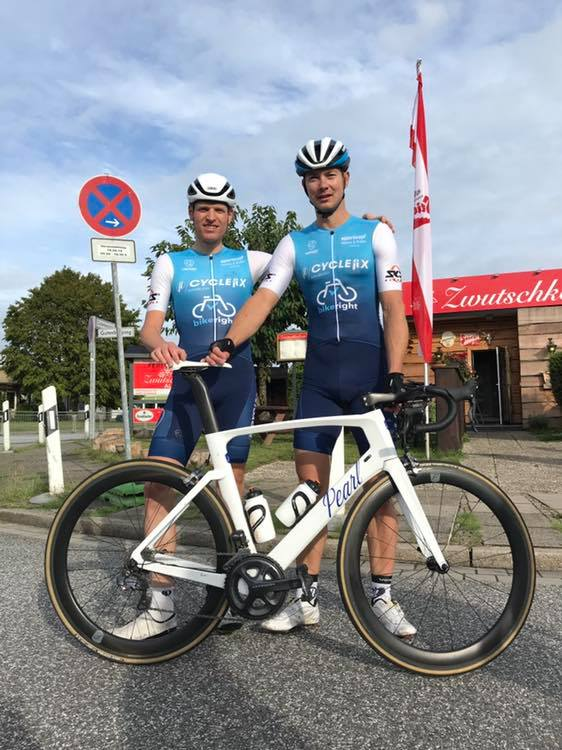 Cyclefix Team Hamburg holt sich den Amatuer Sieg in Bad Oldesloe
