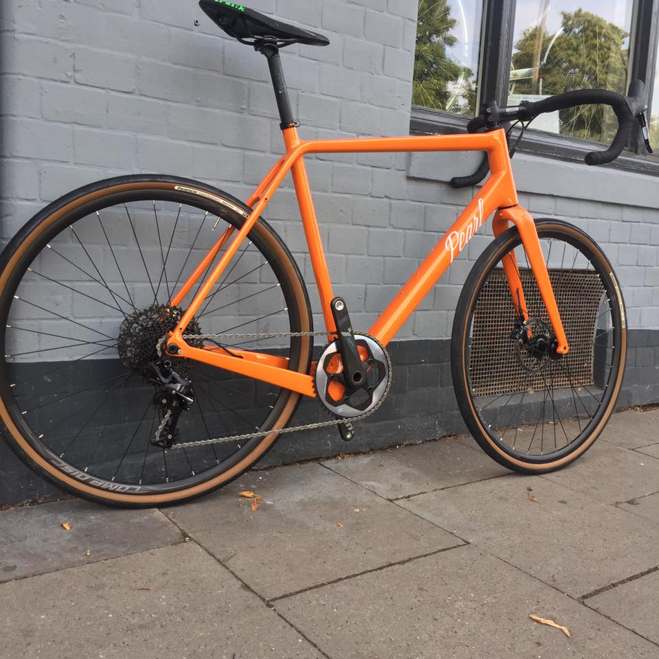 Custom Gravel Bikes bei Pearl Cycles