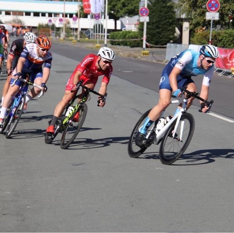 Cyclefix Team Hamburg beim letzten Strassenrennen der Saison