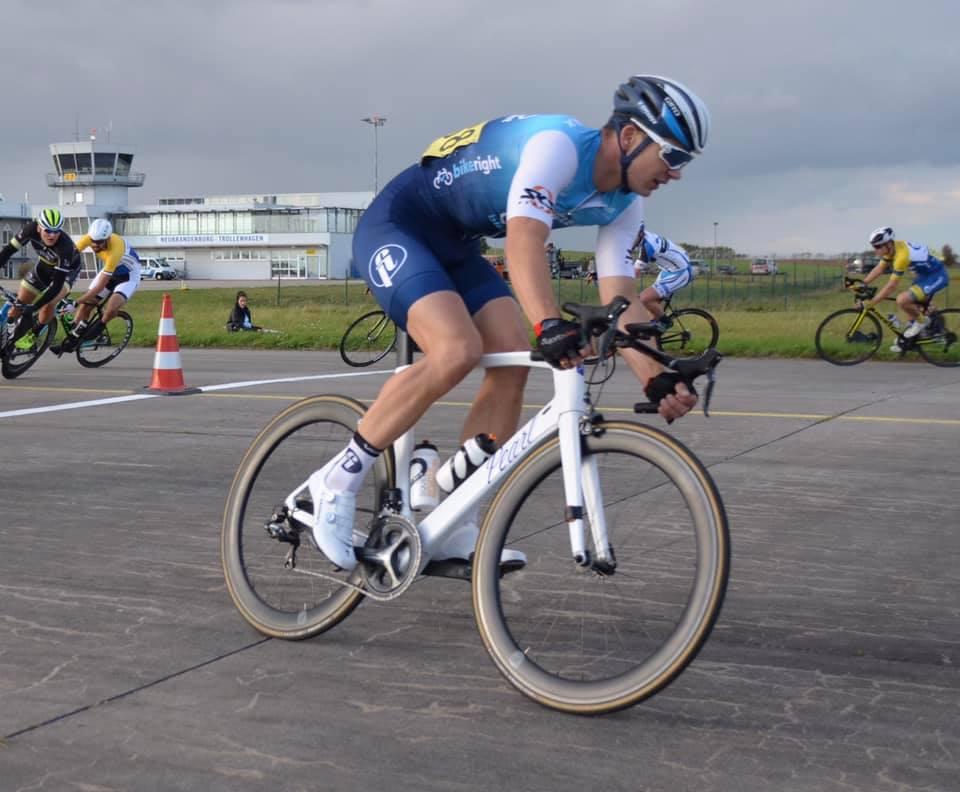 Sebastiab Von vom Cyclefix Team Hamburg landet auf dem dritten Platz