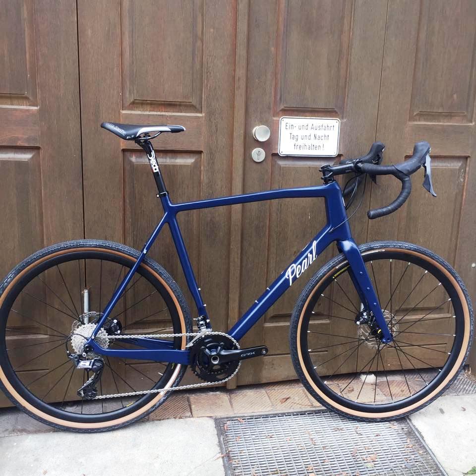 Ab sofort sind alle Pearl Bikes mit Shimano GRX Gruppen lieferbar.