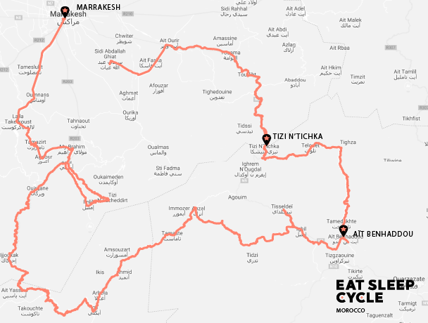 Morrocco Gravel Adventure with Eat Sleep Cycle 03 – 09 October